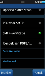 Samsung S8530 Wave II - E-mail - e-mail instellen: POP3 - Stap 12