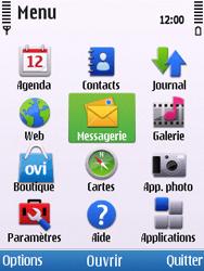 Nokia C5-00 - MMS - envoi d'images - Étape 2