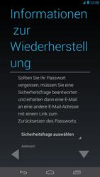 Huawei Ascend Mate - Apps - Konto anlegen und einrichten - Schritt 11