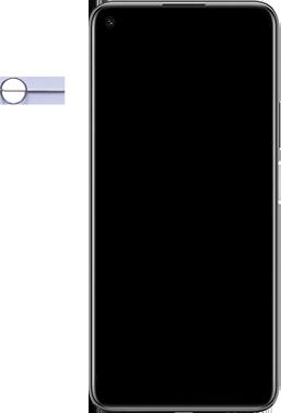 Huawei P40 Lite 5G - Premiers pas - Insérer la carte SIM - Étape 2
