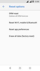 Nokia 1 - Device - Factory reset - Step 7