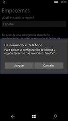 Microsoft Lumia 950 - Primeros pasos - Activar el equipo - Paso 5