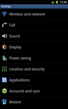 Samsung N7000 Galaxy Note - Internet - Manual configuration - Step 4