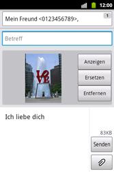 Samsung Galaxy Xcover - MMS - Erstellen und senden - 15 / 18