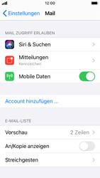 Apple iPhone SE - iOS 14 - E-Mail - Manuelle Konfiguration - Schritt 4