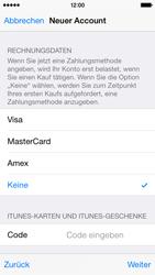 Apple iPhone 5S mit iOS 8 - Apps - Konto anlegen und einrichten - Schritt 30
