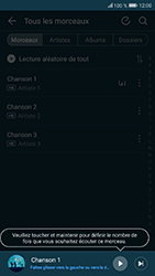 Honor 9 - Photos, vidéos, musique - Ecouter de la musique - Étape 5