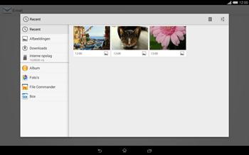 Sony Xperia Tablet Z2 (SGP521) - E-mail - e-mail versturen - Stap 11