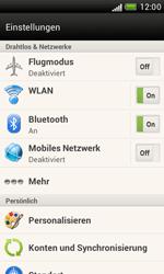 HTC Desire X - Internet - Manuelle Konfiguration - 4 / 23