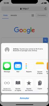 Apple iPhone X - Internet et roaming de données - Navigation sur Internet - Étape 17