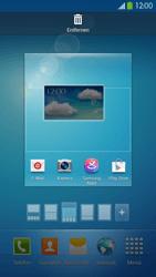 Samsung Galaxy S 4 LTE - Startanleitung - Installieren von Widgets und Apps auf der Startseite - Schritt 6