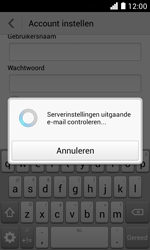 Huawei Ascend Y330 - E-mail - Account instellen (IMAP met SMTP-verificatie) - Stap 18