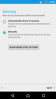 Sony Xperia Z5 Premium (E6853) - E-mail - Manual configuration (outlook) - Step 10