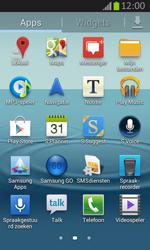 Samsung S7710 Galaxy Xcover 2 - Voicemail - Handmatig instellen - Stap 3