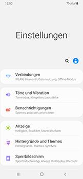 Samsung Galaxy A50 - WiFi - WiFi Calling aktivieren - Schritt 5