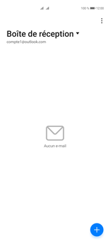 Huawei P40 Pro - E-mails - Ajouter ou modifier votre compte Outlook - Étape 3