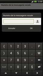 HTC S720e One X - Messagerie vocale - configuration manuelle - Étape 8