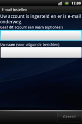 Sony Ericsson Xperia Mini Pro - E-mail - handmatig instellen - Stap 10