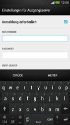 HTC One - E-Mail - Konto einrichten - 0 / 0