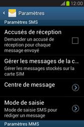 Samsung S6810P Galaxy Fame - SMS - configuration manuelle - Étape 6