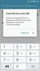Samsung Galaxy S7 Edge - Sécuriser votre mobile - Personnaliser le code PIN de votre carte SIM - Étape 10