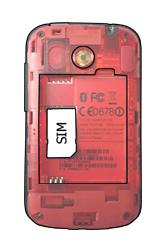 HTC A320e Desire C - SIM-Karte - Einlegen - Schritt 3