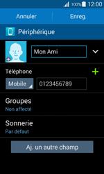 Samsung Galaxy Ace 4 - Contact, Appels, SMS/MMS - Ajouter un contact - Étape 10
