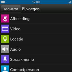 BlackBerry Q10 - MMS - hoe te versturen - Stap 9