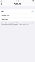 Apple iPhone 8 - iOS 13 - Rete - Come attivare la connessione di rete 4G - Fase 6