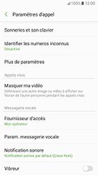 Samsung Galaxy A5 (2017) - Messagerie vocale - configuration manuelle - Étape 7
