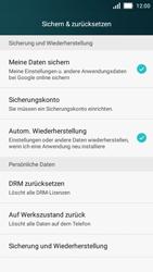 Huawei Y5 - Fehlerbehebung - Handy zurücksetzen - 7 / 10