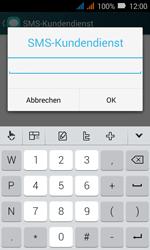 Huawei Y3 - SMS - Manuelle Konfiguration - Schritt 9