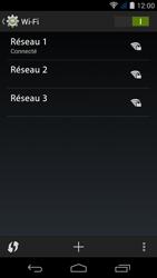 Acer Liquid Jade S - WiFi - configuration du WiFi - Étape 8