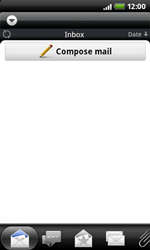 HTC A7272 Desire Z - E-mail - Sending emails - Step 4