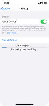 Apple iPhone 11 Pro - Data - Create a backup with your account - Step 13