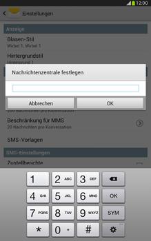 Samsung Galaxy Note 8-0 - SMS - Manuelle Konfiguration - 7 / 9