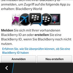 BlackBerry Q5 - Apps - Konto anlegen und einrichten - 7 / 15