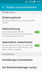 Samsung J120 Galaxy J1 (2016) - Fehlerbehebung - Handy zurücksetzen - Schritt 7