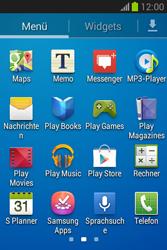 Samsung Galaxy Fame Lite - Apps - Einrichten des App Stores - Schritt 3