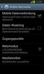 Samsung Galaxy Express - Internet und Datenroaming - Manuelle Konfiguration - Schritt 7