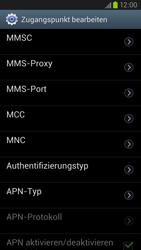 Samsung Galaxy S III LTE - MMS - Manuelle Konfiguration - Schritt 13