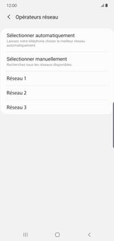 Samsung Galaxy Note 10 Plus 5G - Réseau - Sélection manuelle du réseau - Étape 10