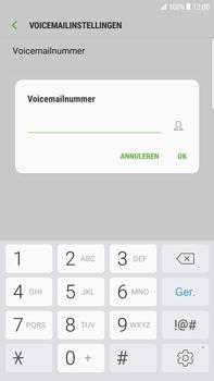Samsung Samsung G928 Galaxy S6 Edge + (Android N) - Voicemail - Handmatig instellen - Stap 8