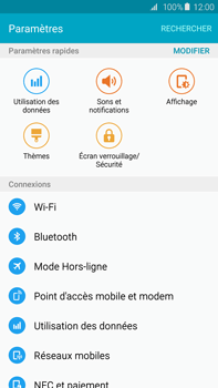 Samsung Galaxy S6 edge+ (G928F) - Bluetooth - Jumelage d