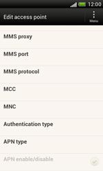 HTC T328e Desire X - Internet - Manual configuration - Step 13