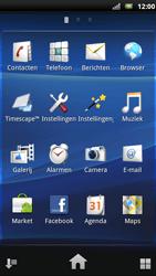 Sony Xperia Neo - MMS - Afbeeldingen verzenden - Stap 2