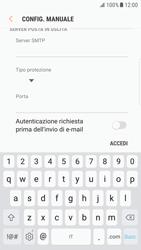Samsung Galaxy S6 Edge - Android Nougat - E-mail - configurazione manuale - Fase 13