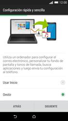 HTC One M8 - Primeros pasos - Activar el equipo - Paso 11