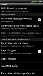 HTC X515m EVO 3D - Messagerie vocale - Configuration manuelle - Étape 5