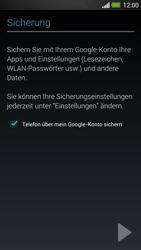 HTC One - Apps - Einrichten des App Stores - Schritt 15